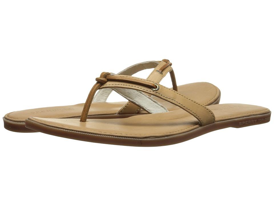 Sperry - Calla (Cognac) Women's Toe Open Shoes