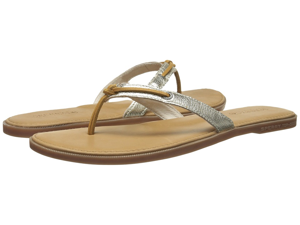 Sperry - Calla (Platinum) Women's Toe Open Shoes