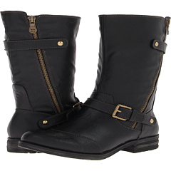 Naturalizer Britain (Black Smooth) Footwear