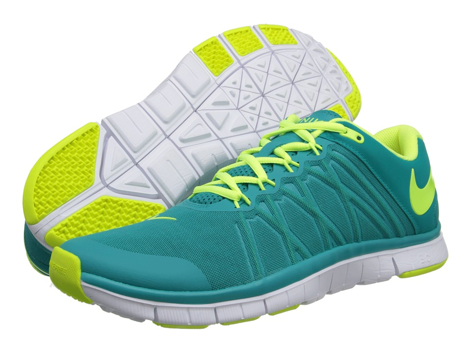 Nike - Free Trainer 3.0 (Turbo Green/White/Volt) Men