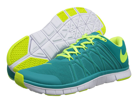Nike - Free Trainer 3.0 (Turbo Green/White/Volt) Men's Cross Training Shoes