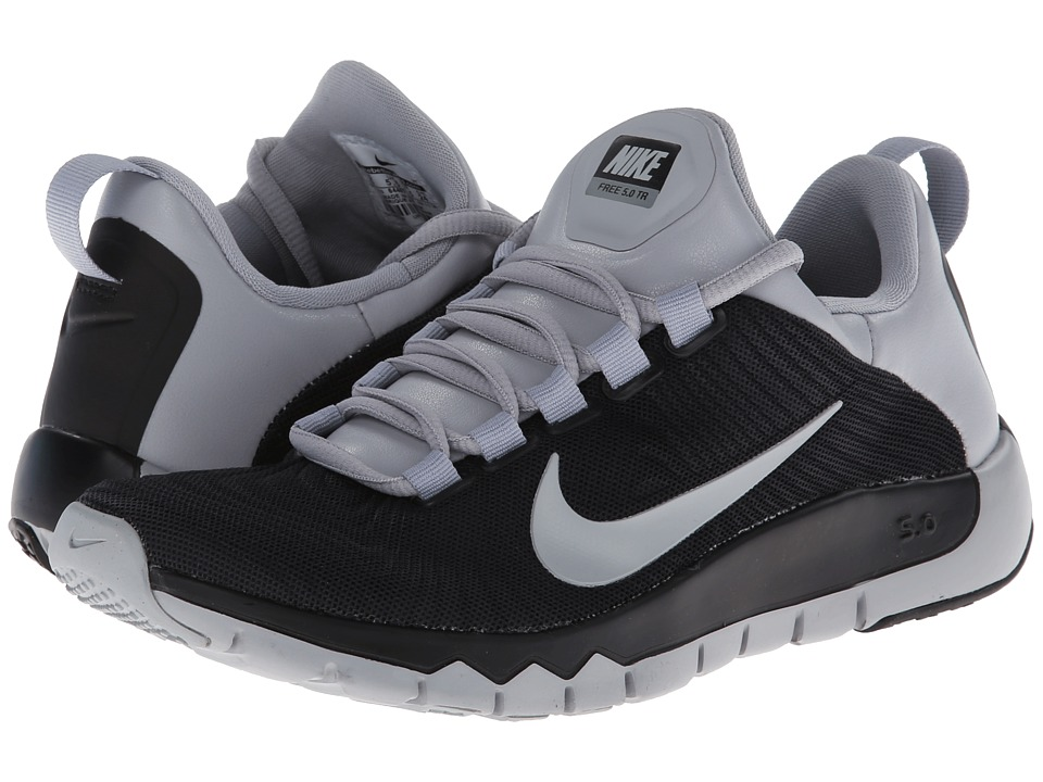 Nike - Free Trainer 5.0 (Black/Wolf Grey) Men