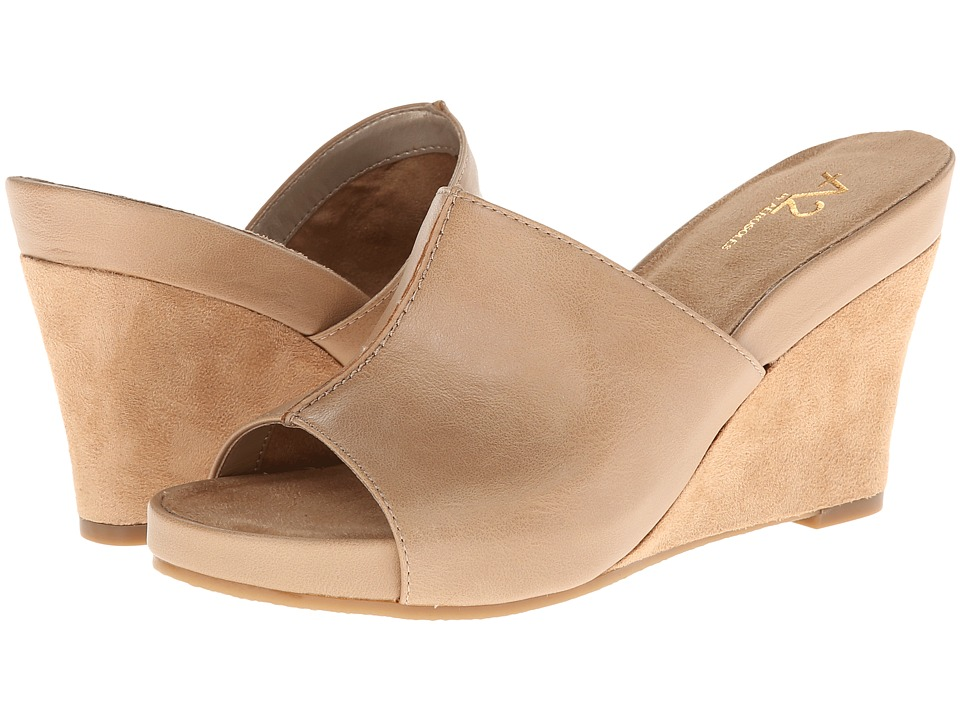 Aerosoles - A2 by Aerosoles Heart Plush (Nude) Women's Wedge Shoes