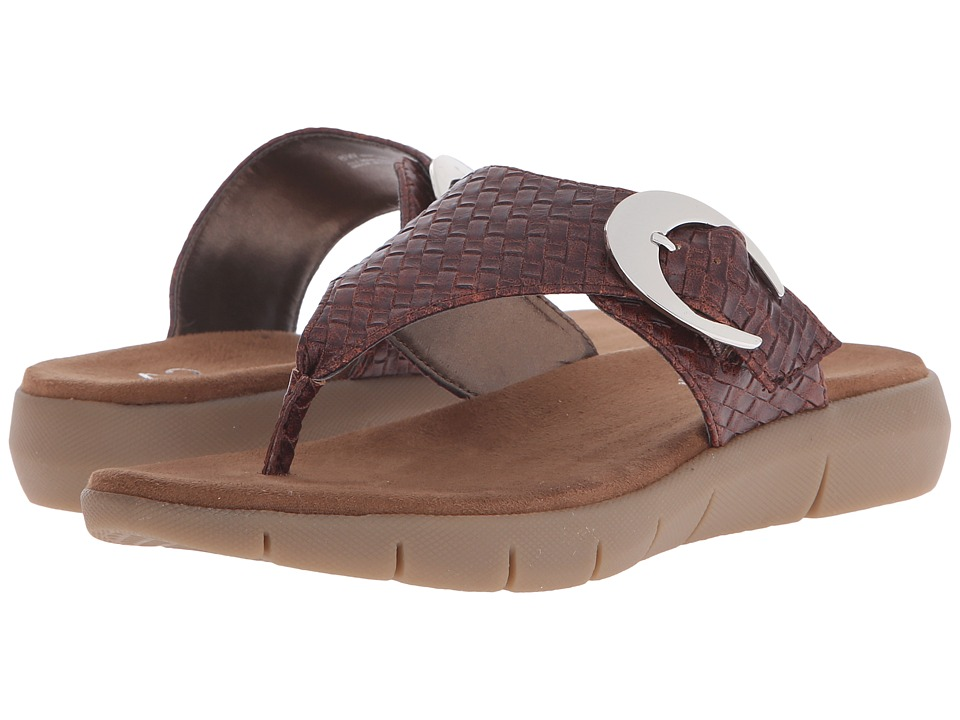 A2 by Aerosoles - A2 by Aerosoles Wipline (Dark Tan Combo) Women's Sandals