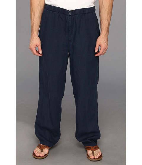 Tommy Bahama Big & Tall - Big Tall New Linen On The Beach Pant (Blue Note) Men's Casual Pants