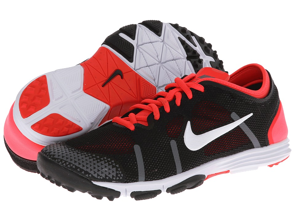 Nike - Lunarelement (Black/Laser Crimson/Dark Grey/White) Women