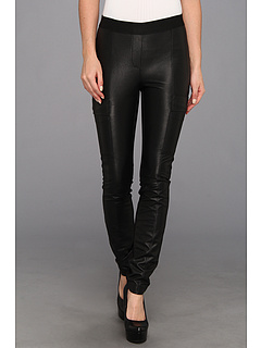 SALE! $119.99 - Save $38 on BCBGMAXAZRIA Wilcox Pleather Legging (Black) Apparel - 24.06% OFF $158.00