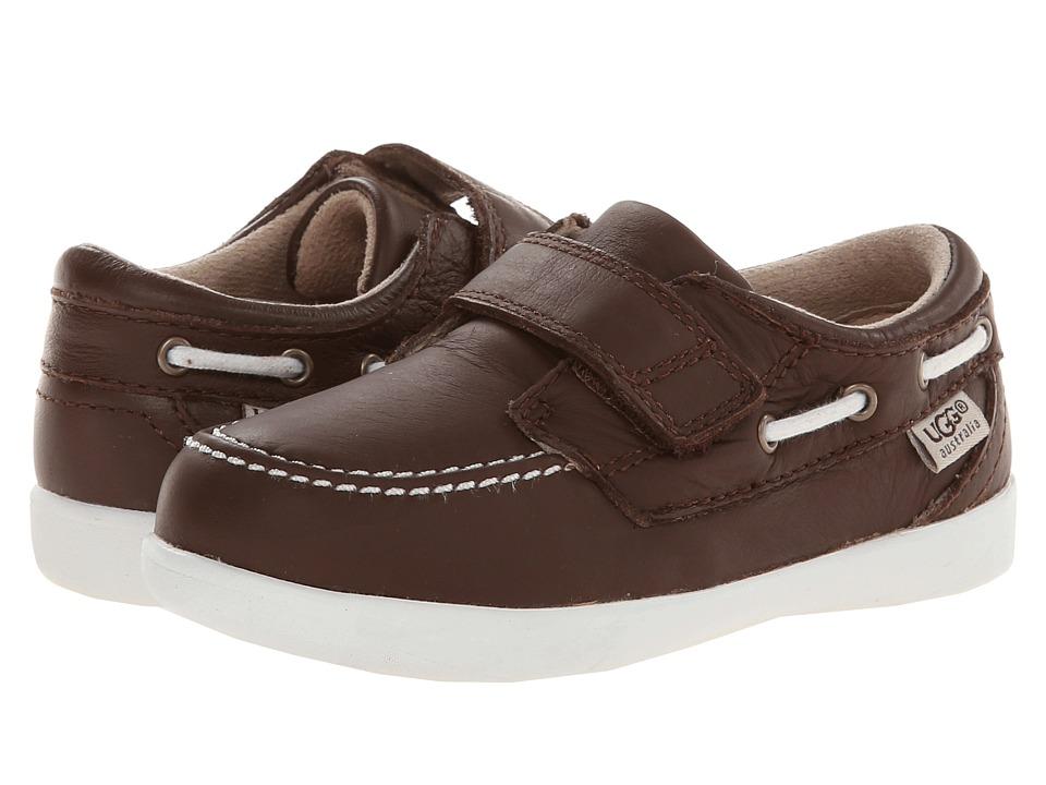 UGG Kids Perrin Boys Shoes (Brown)