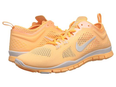 Nike Free 5.0 TR Fit 4 Breathe (Melon Tint/Atomic Mango/White) Women's Cross Training Shoes
