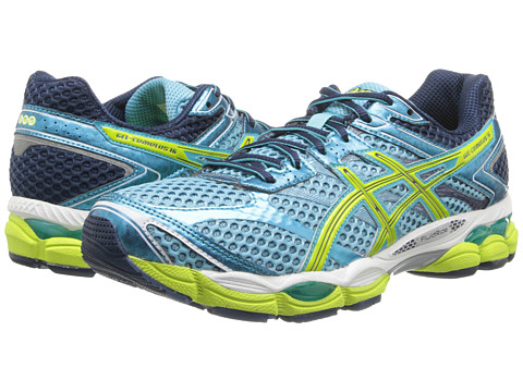 ASICS - Gel-Cumulus 16 (Turquoise/Sharp Green/Navy) Women's Running Shoes