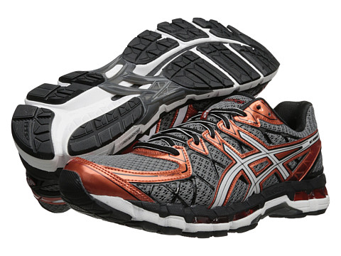 ASICS - Gel-Kayano 20 (Storm/White/Rust) Men's Running Shoes