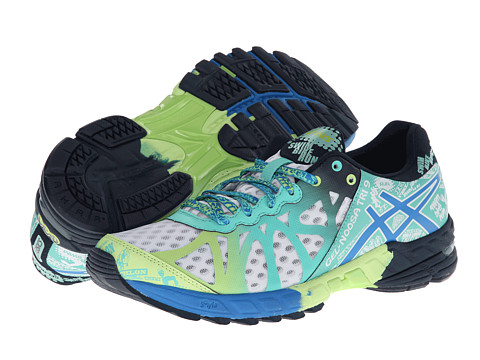 ASICS - GEL-Noosa Tri 9 (White/Electric Blue/Mint) Women's Running Shoes