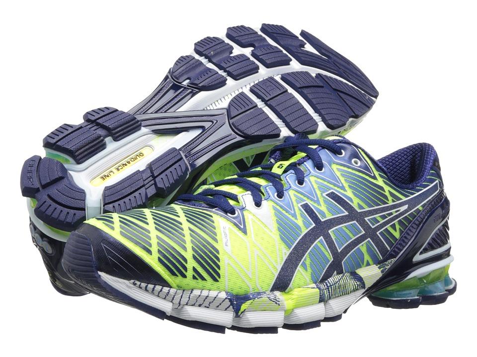 ASICS - Gel-Kinsei 5 (Flash Yellow/Blue Depths/White) Men's Running Shoes