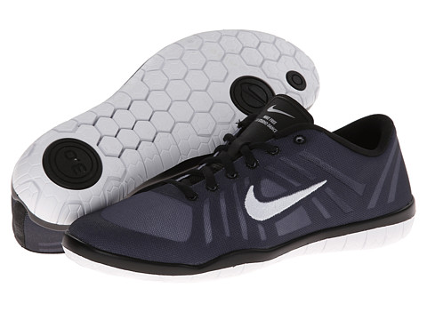 Nike - Free 3.0 Studio Dance (Black/Anthracite/Wolf Grey/White) Women