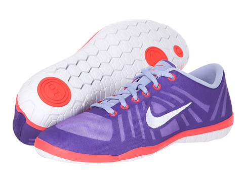 Nike - Free 3.0 Studio Dance (Purple Venom/Court Purple/Laser Crimson/White) Women