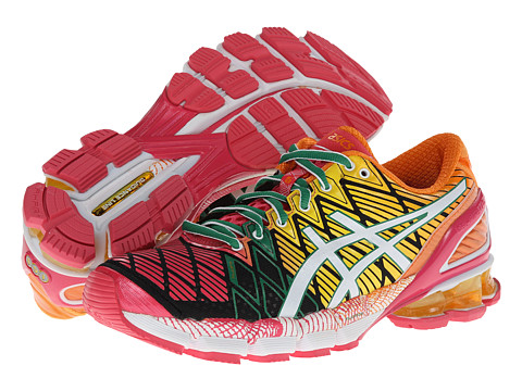 ASICS - Gel-Kinsei 5 (Black/White/Pink) Women's Running Shoes