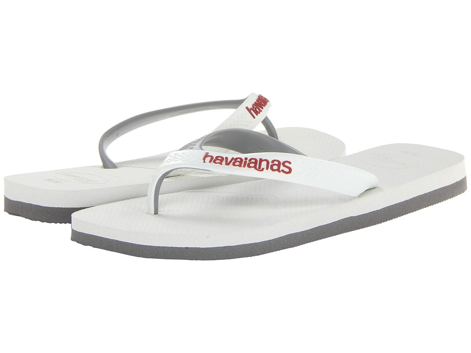 Havaianas - Casual Flip Flops (White) Men's Sandals