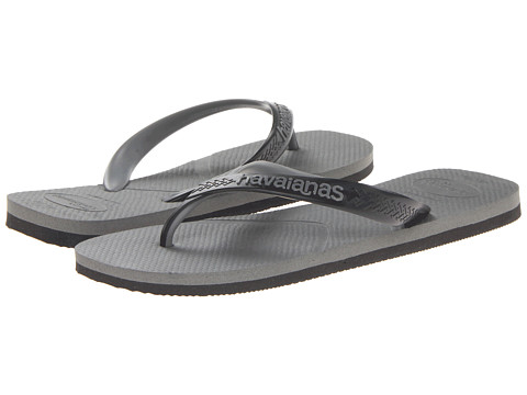 Havaianas - Casual Flip Flops (Grey) Men's Sandals