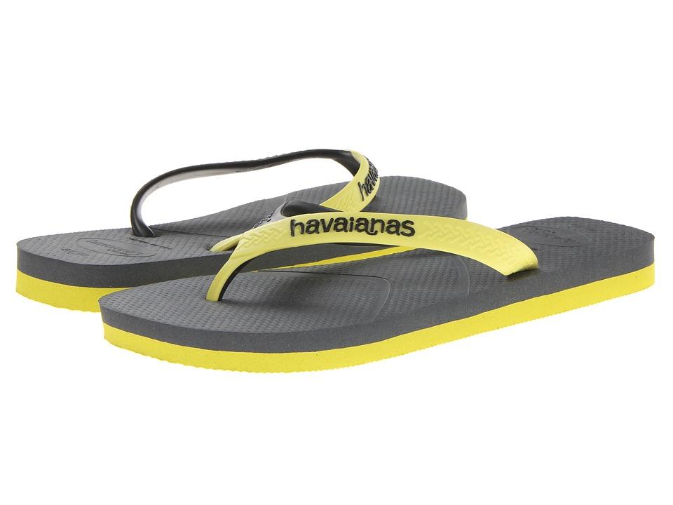 Havaianas Casual Flip Flops (Dark Grey) Men