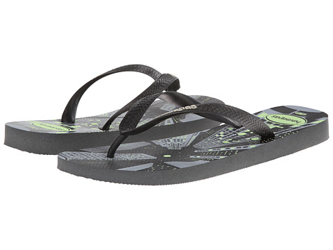 Havaianas - 4 Nite Flip Flops (Grey/Phosphorescent) Men