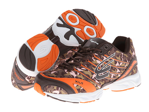 Spira - Duck Dynasty XLT (Chocolate/Orange/White) Women's Running Shoes