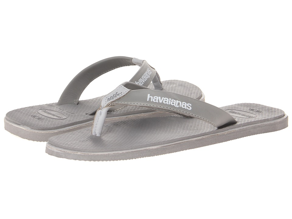 Havaianas - Urban Premium Flip Flops (Grey/Ice Grey) Men's Sandals