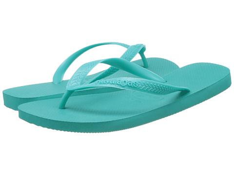 Havaianas - Top Flip Flops (Lake Green) Men's Sandals