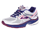 Brooks - Adrenaline GTS 13 (White/Clematis/Phlox) - Footwear
