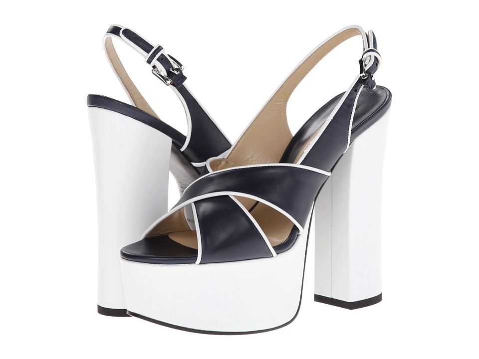 Michael Kors Christina Runway (Indigo Smooth Calf) High Heels