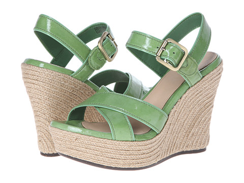 UGG - Jackilyn (Green Grass Patent) Women's Wedge Shoes
