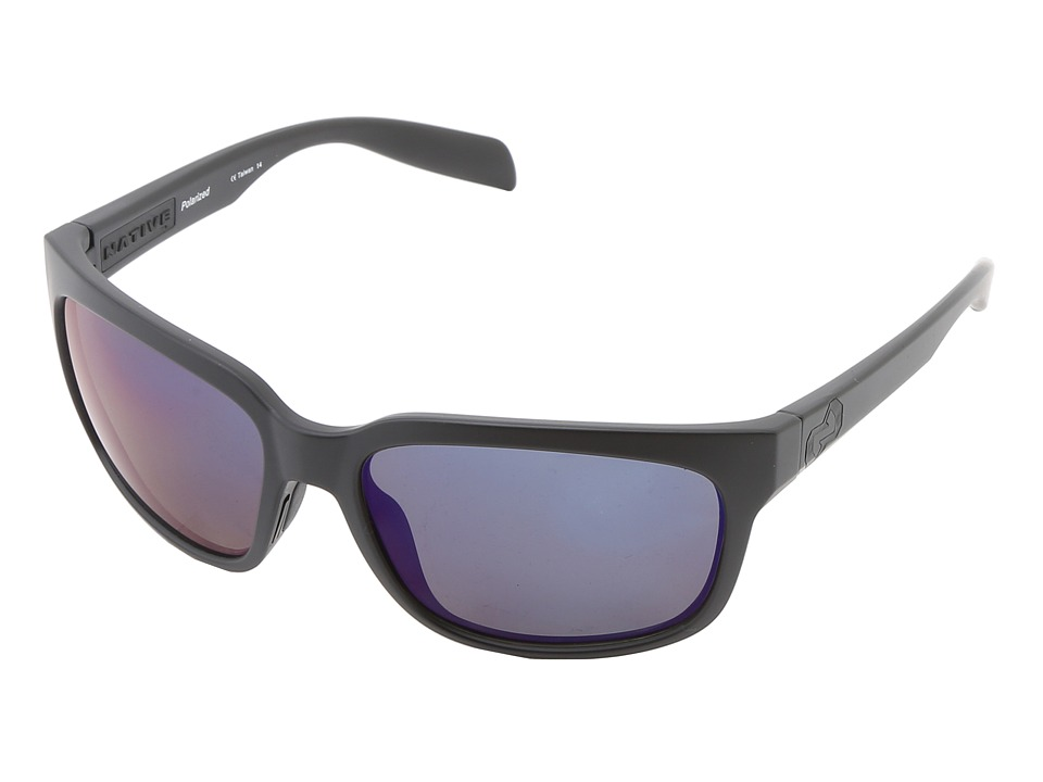 Native Eyewear - Roan (Asphalt Blue Reflex) Sport Sunglasses