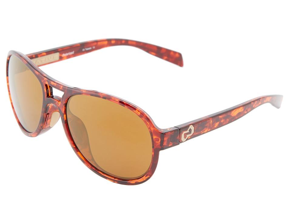 Native Eyewear - Chilkat (Maple Tort Bronze Reflex) Sport Sunglasses