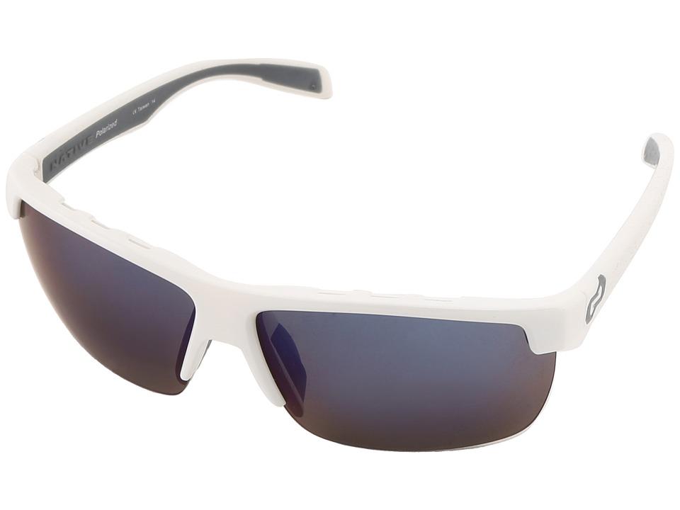 Native Eyewear - Linville (Snow Blue Reflex) Sport Sunglasses