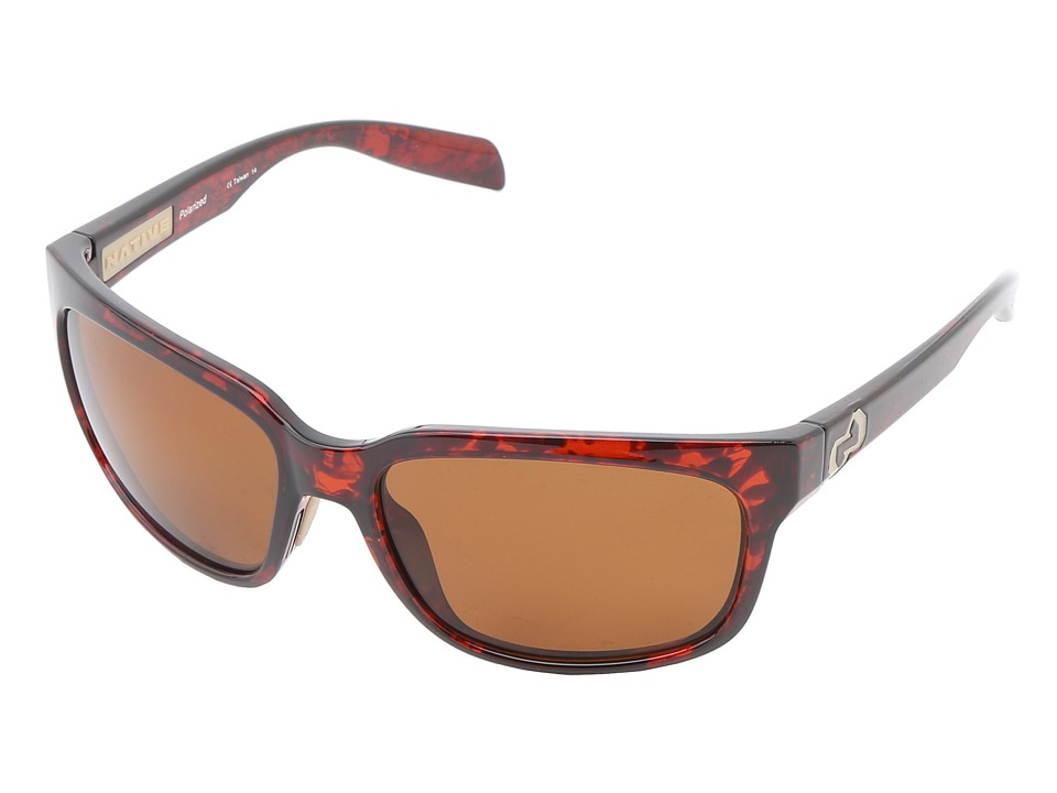 Native Eyewear - Roan (Maple Tort Brown) Sport Sunglasses