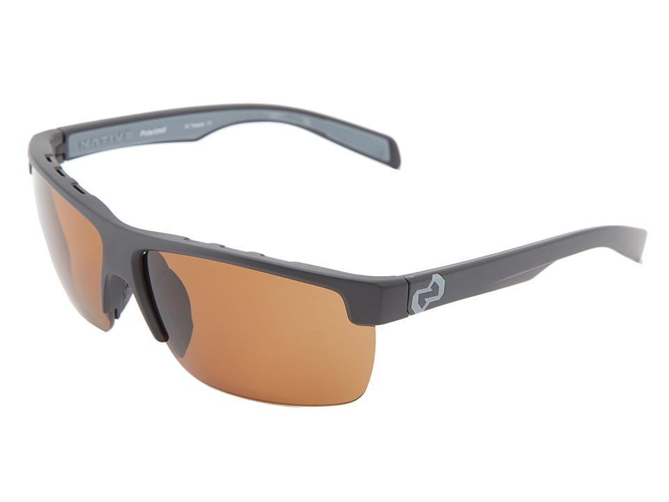 Native Eyewear - Linville (Asphalt Brown) Sport Sunglasses