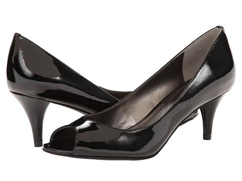 Tahari Marie (Black Patent Open Stock) Women's 1-2 inch heel Shoes