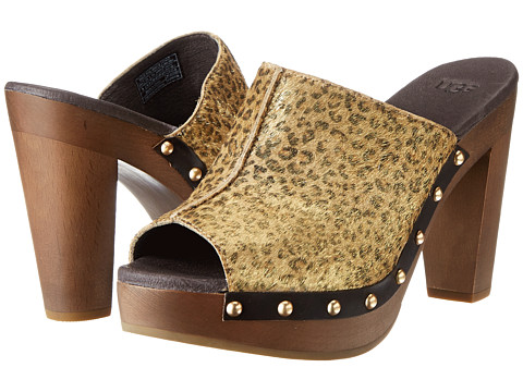 UGG - Skyler Metallic Leopard Calf Hair (Leopard Metallic Calf Hair) High Heels
