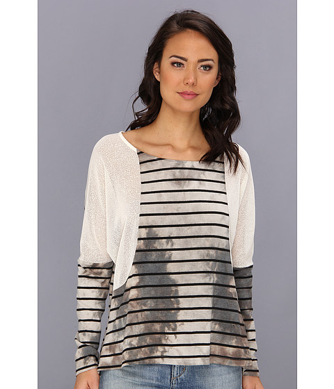 MINKPINK - Forever For Her Stripe Top (Multi) Women's T Shirt