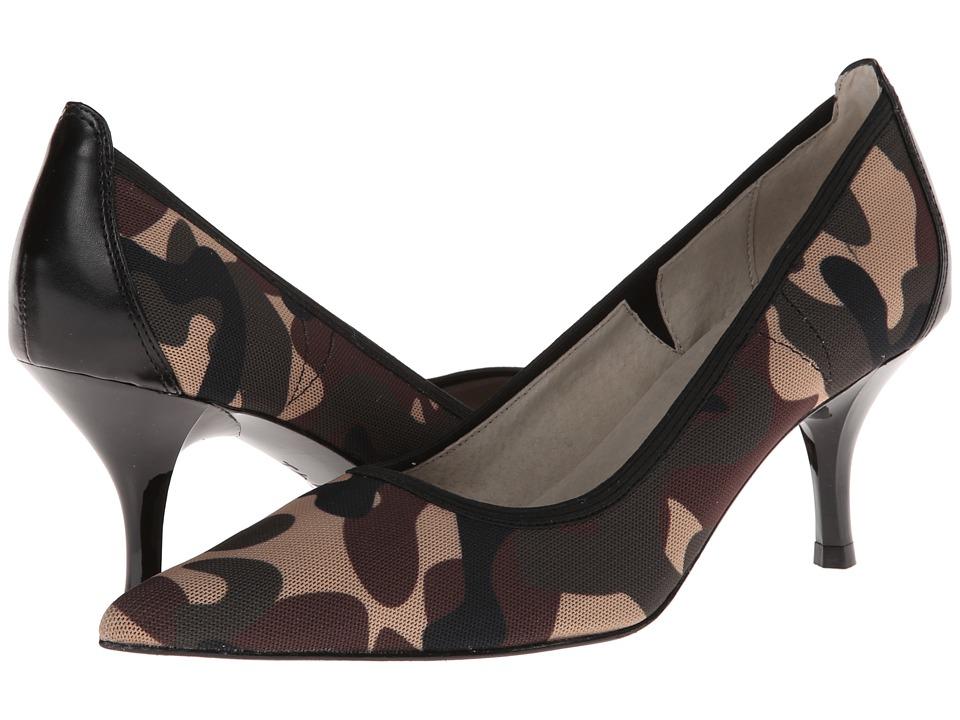 Tahari - Dottie (Olive/Black Camo) High Heels