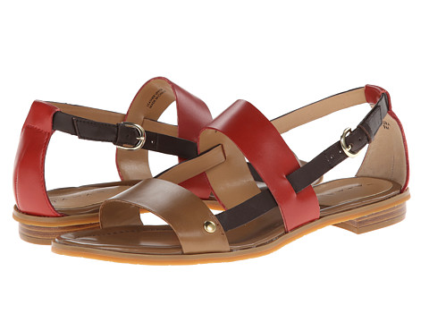Tahari - Aura (Tan/Orange) Women's Sandals