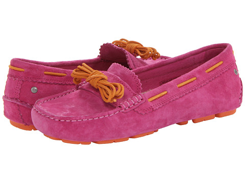 UGG - Meena (Princess Pink Suede) Women's Slip on Shoes