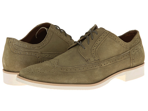 Stacy Adams - Parker (Washed Green Suede) Men