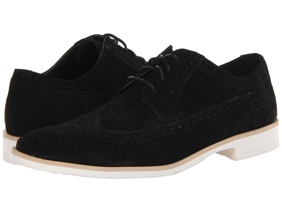 Stacy Adams - Parker (Black Suede) Men