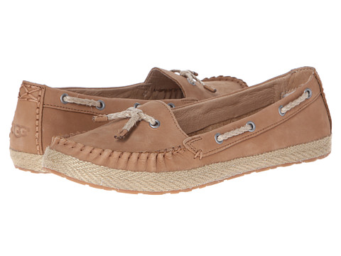 UGG - Chivon (Chestnut Nubuck) Women's Flat Shoes