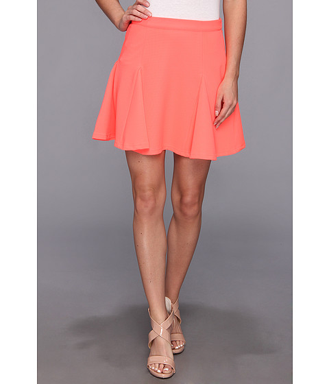 MINKPINK - The Only Way Skirt (Neon Coral) Women's Skirt