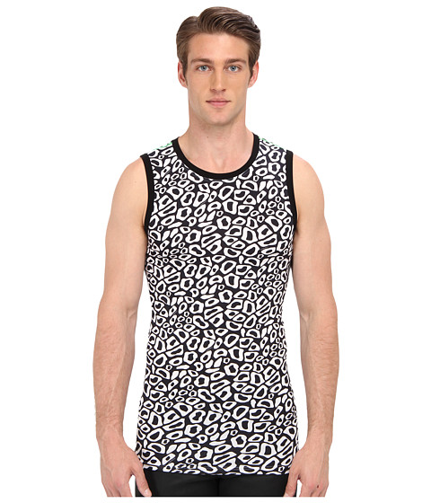 Versace - Logo Print Tank (Multi) Men's Sleeveless