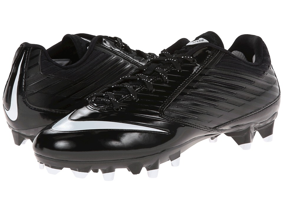 Nike - Vapor Speed Low TD (Black/White) Men's Shoes