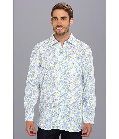 Tommy Bahama - Paisley Royale L/S Shirt (Clear Sky Blue) Men