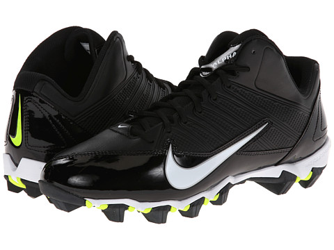 Nike - Alpha Shark 3/4 (Black/Black/Volt/White) Men
