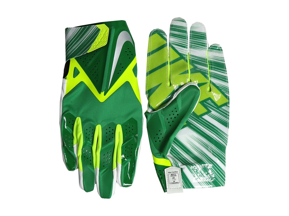 Nike - Vapor Fly (Court Green/Volt/Metallic Silver) Gore-Tex Gloves